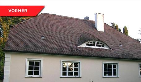 Dachrenovierung - vorher