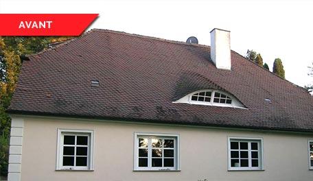 Rénovation de toitures - avant