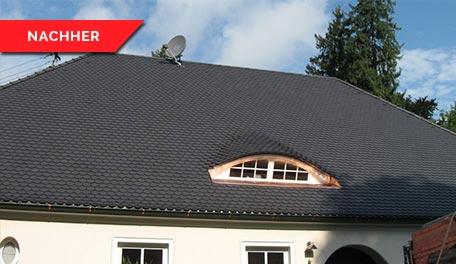 Dachrenovierung - nachher