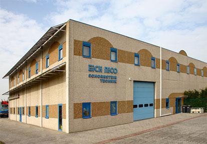 Le siège de la société Toitures Eich