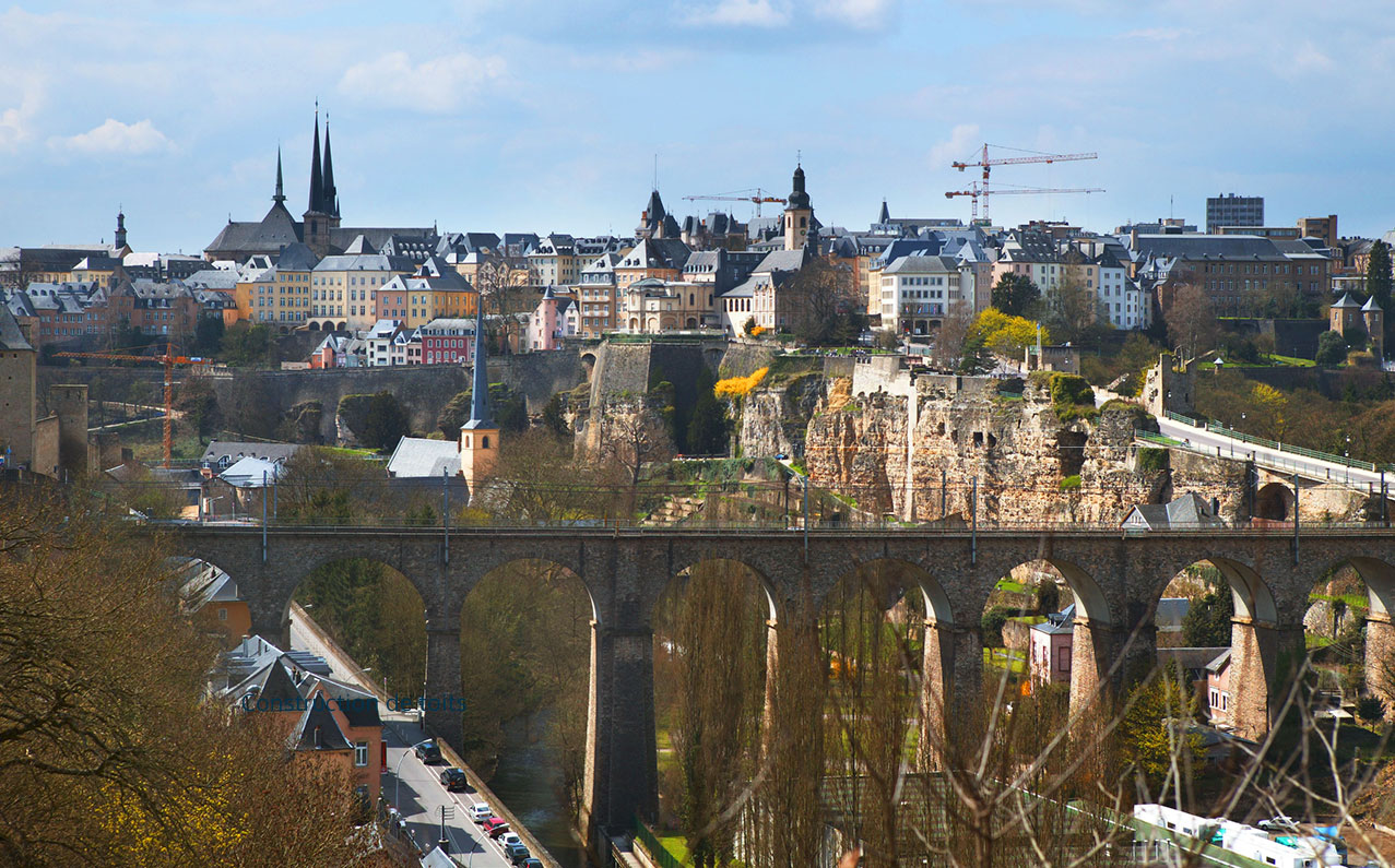 Construction de toits au Luxembourg